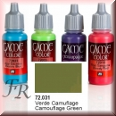 Vallejo Game Color: Camouflage Green 17ml (72.031)