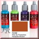 Vallejo Game Color: Parasite Brown 17ml (72.042)