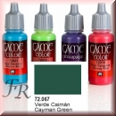 Vallejo Game Color: Cayman Green 17ml (72.067)